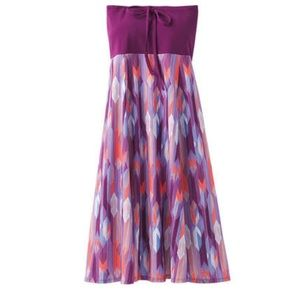 Prana Solana Dress Size XS (Purple) Grapevine Gem